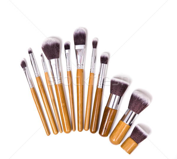 Professional makeup brushes Stock photo © manera