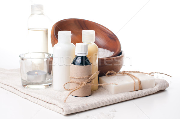 products for spa, body care and hygiene Stock photo © manera