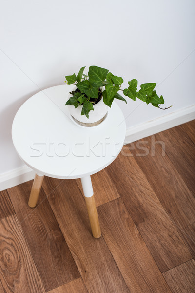 Stock photo: simple decor objects, minimalist white interior