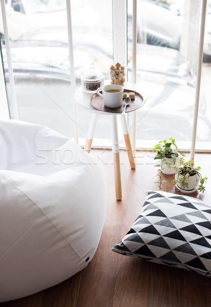Stil iç çatı katı oda Stok fotoğraf © manera