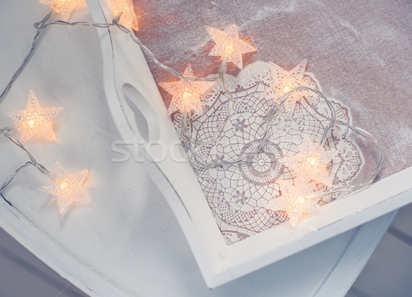 interior decor for winter holidays Stock photo © manera
