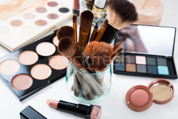 ストックフォト: プロ · 化粧 · ツール · 製品 · セット · 自然