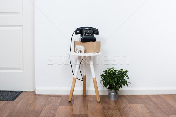 Egyszerű dekoráció tárgyak minimalista fehér belső Stock fotó © manera