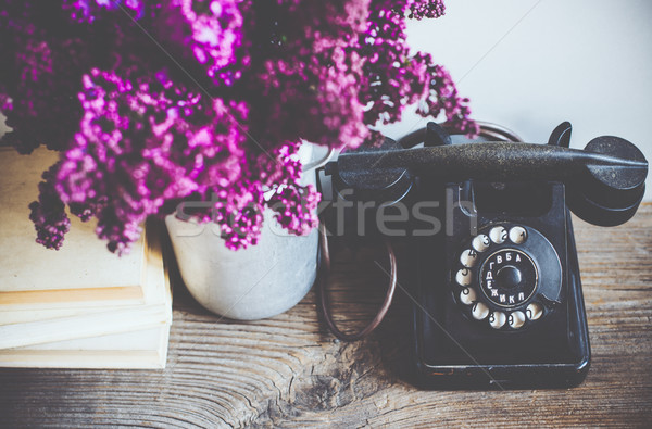 retro interior decor Stock photo © manera