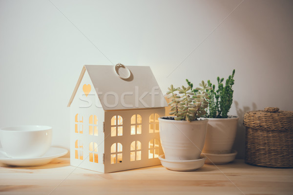 vintage home decorations Stock photo © manera