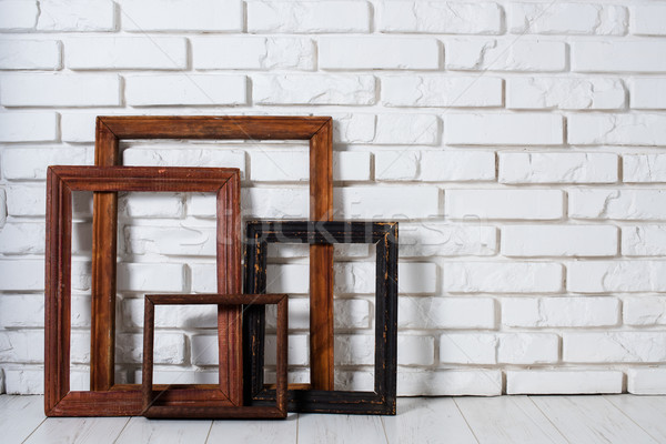 wooden frames Stock photo © manera