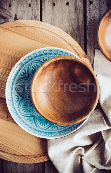 Rustic dishes Stock photo © manera