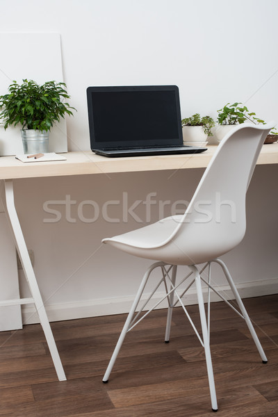 Stock fotó: Stílus · startup · munka · űr · fehér · minimalista
