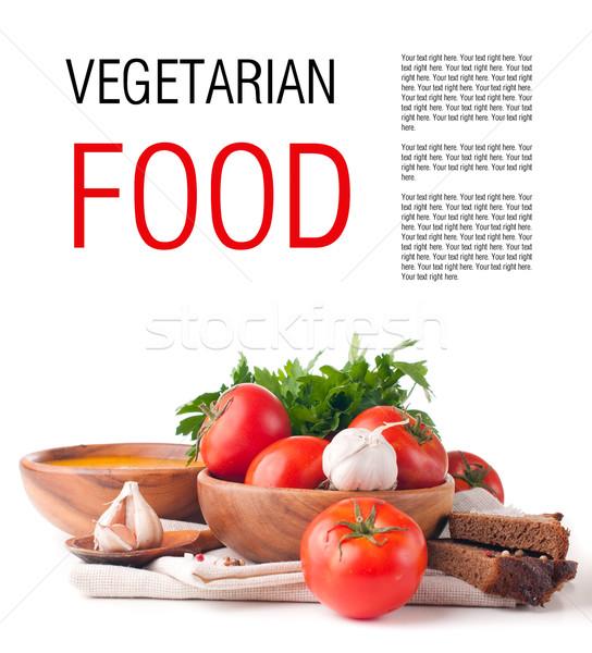 精進料理 孤立した テンプレート 準備 デザイン 野菜 ストックフォト © manera