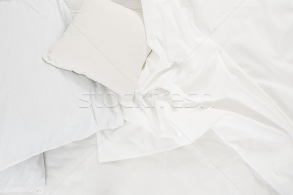 white linen cloth Stock photo © manera