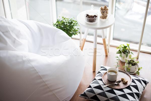 Stylu wnętrza strych pokój Zdjęcia stock © manera