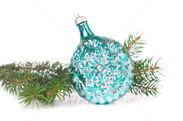 decorations and spruce branches Stock photo © manera