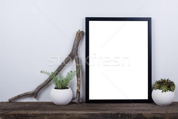Stylu pusty w górę minimalny Zdjęcia stock © manera