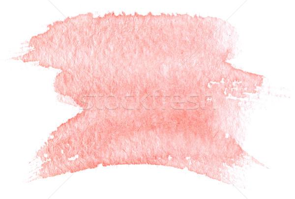 pink watercolor Stock photo © manera