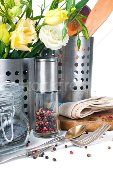 Kitchen objects, cookware Stock photo © manera