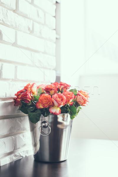 fresh roses Stock photo © manera