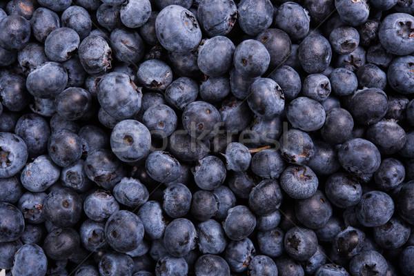 Fresco maduro mirtilos macro tiro fruto Foto stock © manera