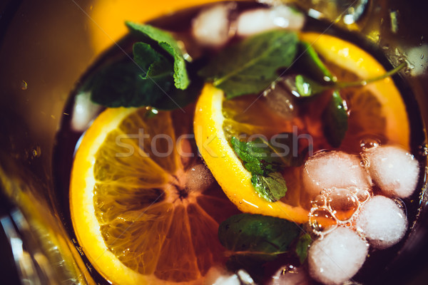 Sangria with red wine Stock photo © manera