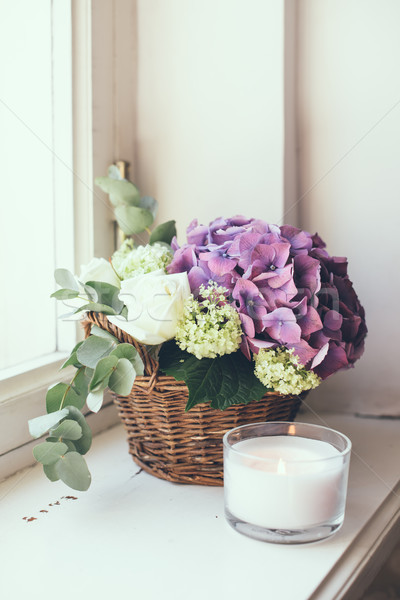 bouquet of fresh flowers Stock photo © manera