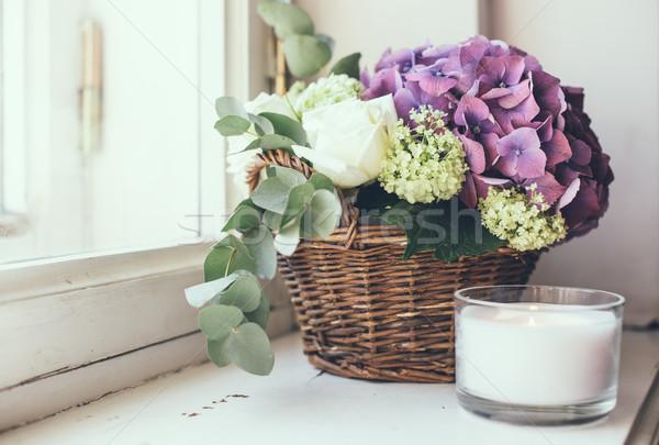 bouquet of fresh flowers Stock photo © manera