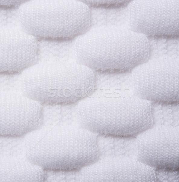 Fehér kötött szövet makró lövés ruha Stock fotó © manera