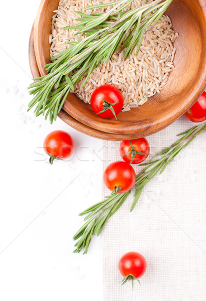 Fresh vegetarian food Stock photo © manera