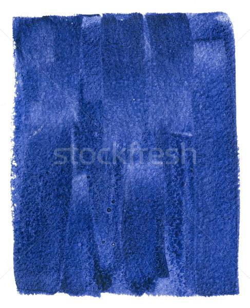 Aquarel abstract donkere Blauw Papierstructuur Stockfoto © manera