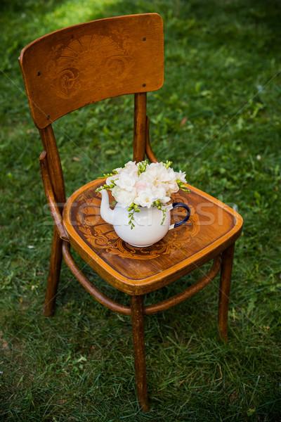 лет свадьба вечеринка свежие Сток-фото © manera