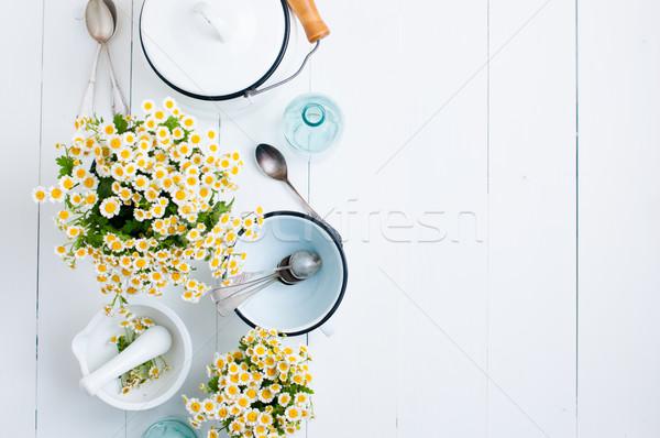 cottage living decor Stock photo © manera