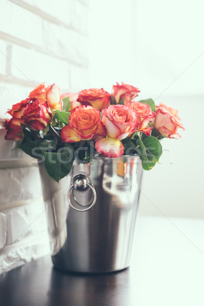 fresh roses Stock photo © manera