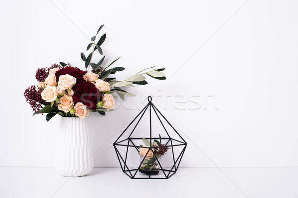 Geometric modern home decor Stock photo © manera