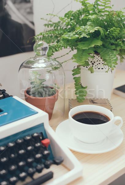 hipster work space Stock photo © manera