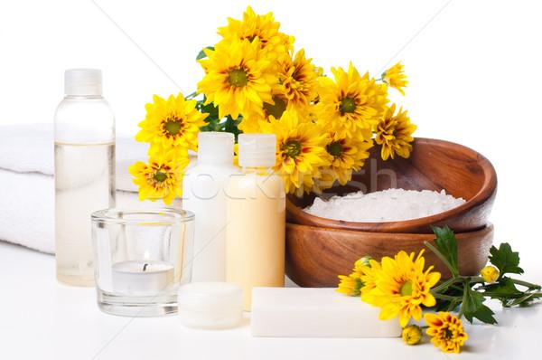 Termékek fürdő test törődés higiénia fehér Stock fotó © manera
