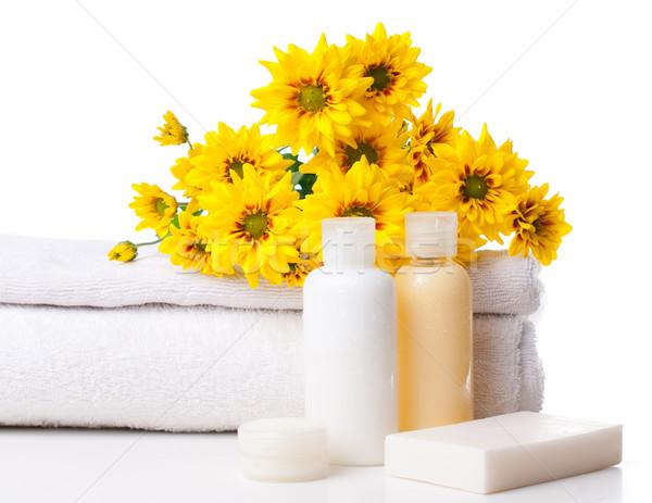Prodotti spa corpo care igiene bianco Foto d'archivio © manera