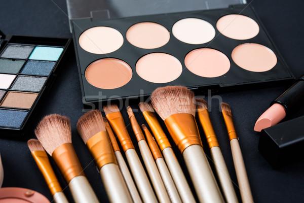 ストックフォト: プロ · 化粧 · ツール · 製品 · セット · コレクション