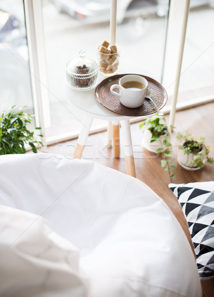 scandinavian style hipster interior, cozy loft room Stock photo © manera
