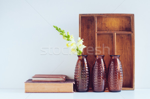 Vintage home decor Stock photo © manera