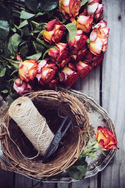 Floristic background Stock photo © manera