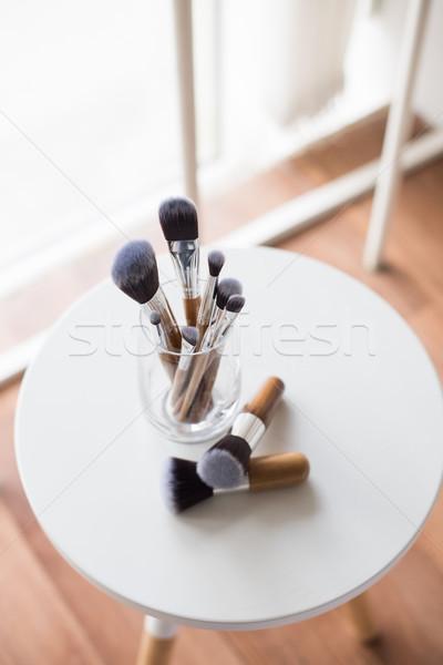 Profi smink üveg arc munka csoport Stock fotó © manera