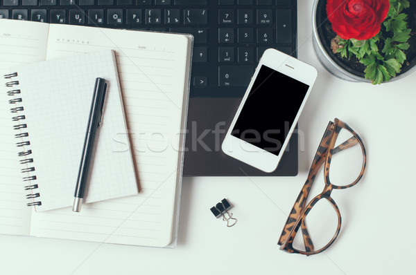 Office tabletop Stock photo © manera