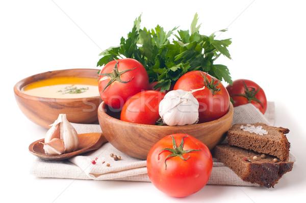 精進料理 孤立した 野菜 ハーブ パン クローズアップ ストックフォト © manera