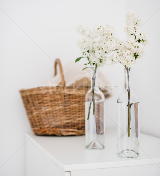 комнату плетеный корзины домой Сток-фото © manera