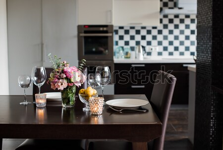 kitchen interior Stock photo © manera