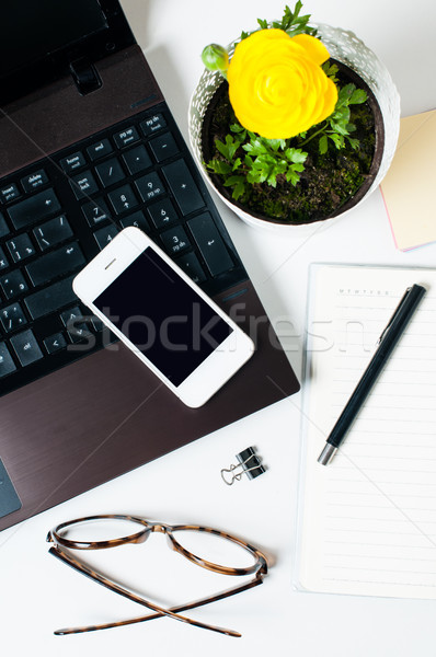 Desktop, home office Stock photo © manera