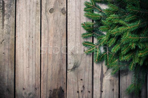 Zielone wystroić świeże starych Zdjęcia stock © manera