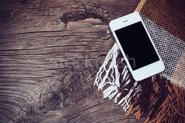 White smartphone Stock photo © manera
