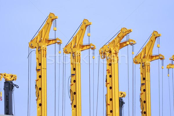 Cranes Stock photo © manfredxy