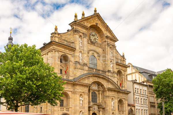 Facade of St. Martin church in Bamberg Stock photo © manfredxy