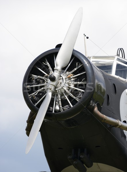 Vintage Aircraft Propeller Stock photo © manfredxy