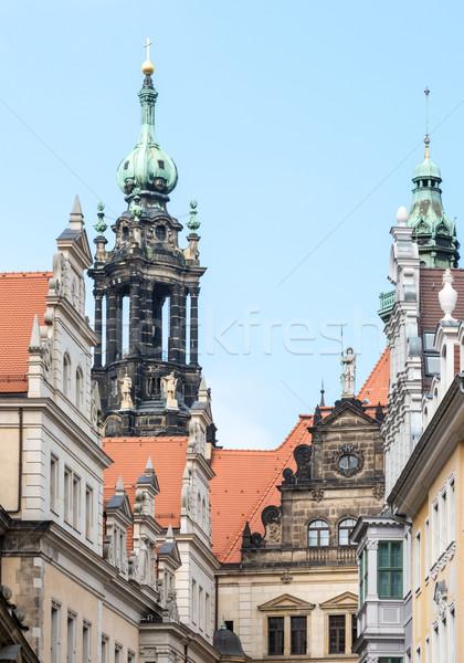 Historic Dresden Stock photo © manfredxy